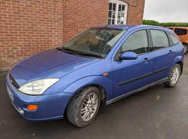 Ford Focus, 1999 (T) Blue Hatchback, Manual Petrol, 110,763 miles
