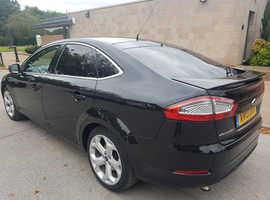 Ford Mondeo, 2013 (13) Black Hatchback, Manual Petrol, 107,397 miles