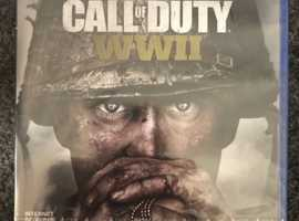 PS4 Call of duty WW2 new and sealed