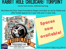 Rabbit Hole Childcare: Torpoint