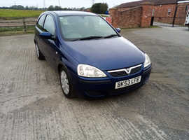 Vauxhall Corsa 1.0 active 3 door 2003 03