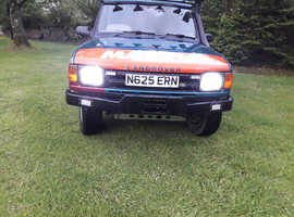 Land Rover DISCOVERY TDI, 1995 (N) Blue Estate, Manual Diesel, 185,000 miles