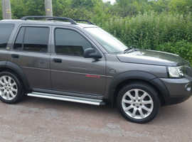 Land Rover Freelander, 2004 (04) TD4, Grey Estate, Manual Diesel, 100,022 miles, 12 MONTHS MOT