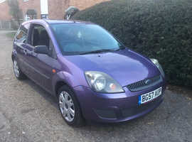 Ford Fiesta 1.25 2007 (57) Purple Hatchback