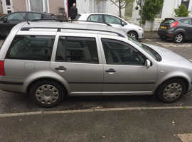 Volkswagen Golf, 2001  V plate Silver Estate, Automatic Petrol, 85,000 miles
