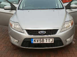 Ford Mondeo, 2008 (58) Silver Hatchback, Manual Diesel, 147,568 miles