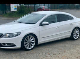 Volkswagen Cc, 2012 (62) White Coupe, Manual Diesel, 65,000 miles