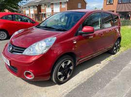Nissan Note, 2012 (62) Red MPV, Manual Petrol, 92,647 miles