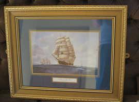 Clipper on the High Seas -