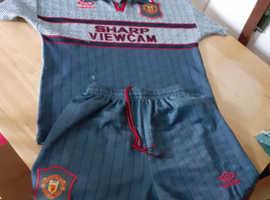 Manchester United kit. 1993/4