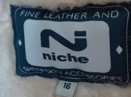 Ladies Niche Sheepskin Jacket.