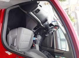 Seat Alhambra, 2011 (11) red hatchback, Manual Petrol, 60756 miles