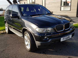 BMW X5, 2004 (54) Black Estate, Automatic Diesel, 127,000 miles
