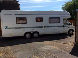 Immaculate 05 fiat autotrail Cheyenne tag axle 2.8SE genuine 19200 miles 4 berth
