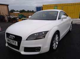 Audi TT, 2012 (12) White Coupe, Manual Petrol, 69,529 miles