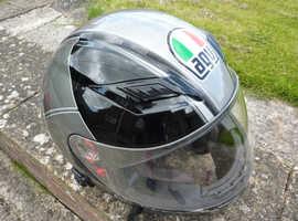AGV SKYLINE MOTORCYCLE HELMET FOR SALE SIZE S4 XL 61-62cm.