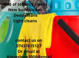 rinse & shine cleaning services