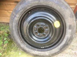 Toyota Yaris spare wheel