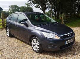 Ford Focus, 2011 (11) Grey Hatchback, Manual Diesel, 133,000 miles