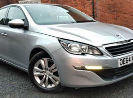 Peugeot 308 Active E-HDI 1.6 Diesel 2014 5dr Sat Nav *1 Year Warranty* Low Mileage 50k