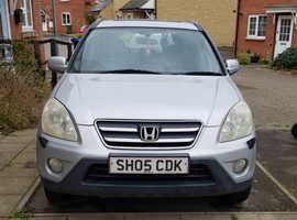 Honda CR-V, 2005 (05) Silver Estate, Manual Petrol, 13100 miles