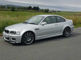 BMW 3 Series, 2002 (52) Silver Coupe, Manual Petrol, 120,000 miles