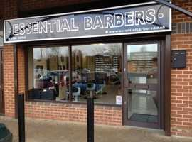 Full time self employed barber