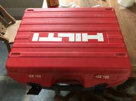 Gx100 hilti gun