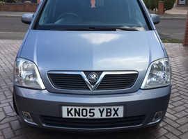 Vauxhall Meriva, 2005 (05) Silver MPV, Manual Petrol, 50,800 miles