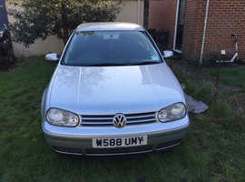 Volkswagen Golf, 2000 (W) Silver Hatchback, Manual Petrol, 106,000 miles