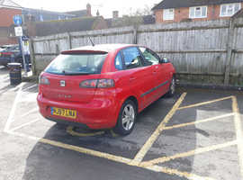 Seat Ibiza, 2007 (57) Red Hatchback, Manual Petrol, 80,000 miles