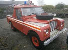 """Land Rover 109"""" Fire Truck #119"""