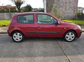 Renault Clio, 2003 (03) Red Hatchback, Manual Diesel, 125,600 miles