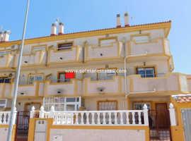 Costa Blanca 2 bed duplex apartment with Private Rooftop Solarium in Playa Flamenca