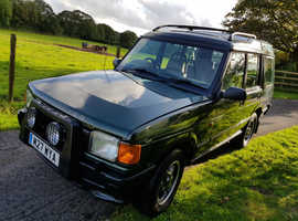 Land Rover DISCOVERY TDI AUTO, 1995 (M) Green Estate, Manual Diesel, 112,000 miles