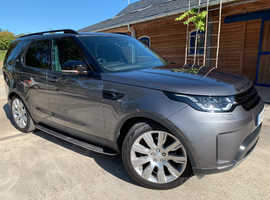 Land Rover Discovery, 2018 (18) Grey Estate, Automatic Diesel, 14,000 miles