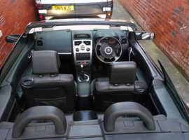 Renault Megane,  Black Convertible, Full Leather, Manual Diesel, 60,000 miles