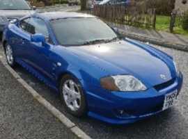 Hyundai COUPE 1.6, 2005 (05), Manual Petrol, 111,000 miles
