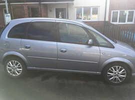 Vauxhall Meriva, 2009 (59) Silver MPV, Manual Petrol, 102,223 miles