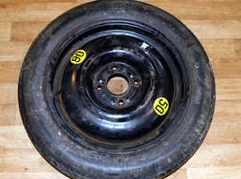 Space Saver Wheel and Tyre for Ford, Fiat, Citroen etc.