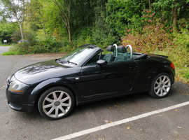 Audi TT, 2003 (53) Black Convertible, Manual Petrol, 141,000 miles