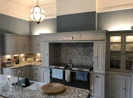 Elegant bespoke kitchen manufacture and fitters