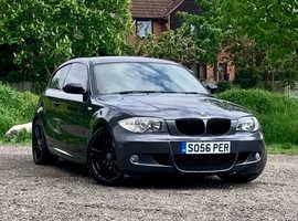 BMW 1 series, 2008 (08) Grey Hatchback, Manual Diesel, 96,144 miles, NEW MOT, NEW CLUTCH&Flywheel