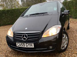 Mercedes A-CLASS, 2009 (59) Black Hatchback, Manual Diesel, 83,257 miles