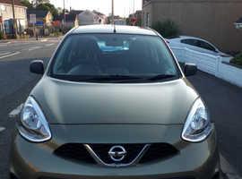 Nissan Micra, 2014 (64) Green Hatchback, Manual Petrol, 53,000 miles