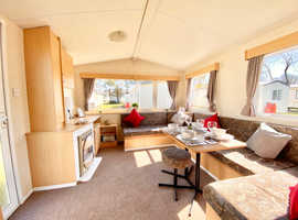 3 bedroom static caravan located at Cresswell Towers in Northumberland
