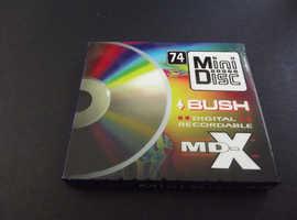 Bush 74 Rare Collectable recordable Minidisc in Manchester