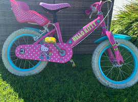 Girl's Hello Kitty bike