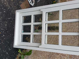 FOR SALE:    Georgian Wooden Sash Windows NEW  790mm Wx 1360mm H £375.00 each - Fully Finished in Gloss White   Buyer Collects.  2 of