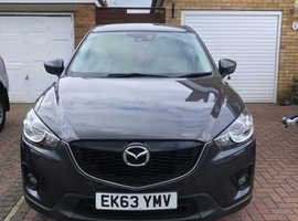 Mazda CX-5, 2013 (63) Grey Estate, Automatic Diesel, 42,706 miles